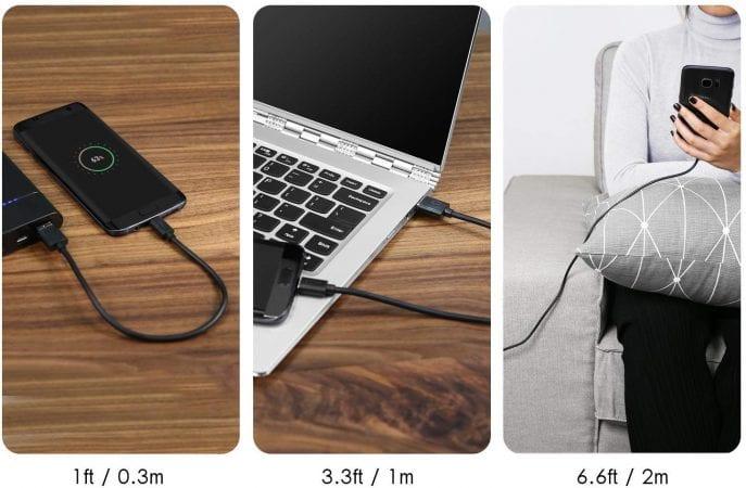 Cables Aukey USB a Micro USB baratos SuperChollos