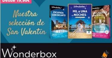 oferta Wonderbox regalos SuperChollos