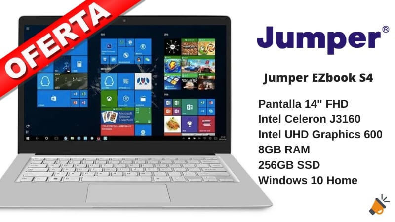 ofeta Jumper Ezbook S4 barato SuperChollos