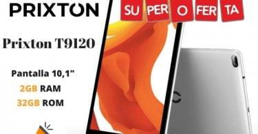 oferta prixton T9120 tablet barata SuperChollos
