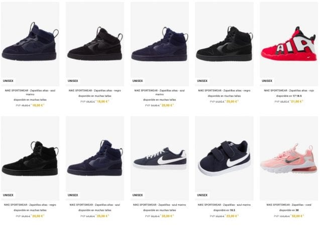 outlet nike zalando4 SuperChollos