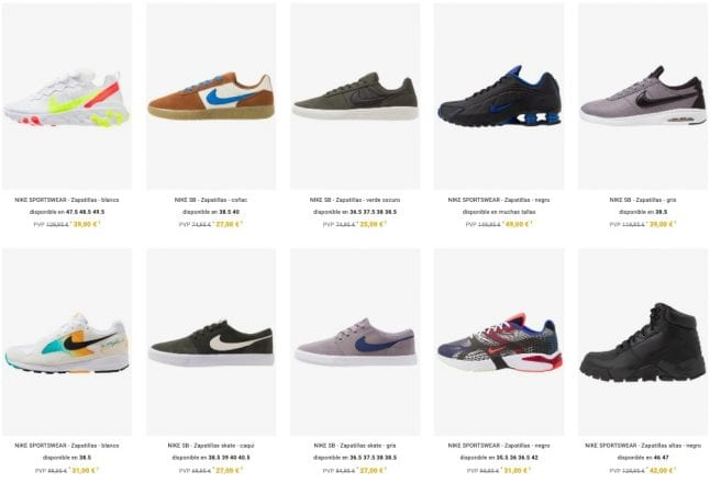outlet nike zalando5 SuperChollos