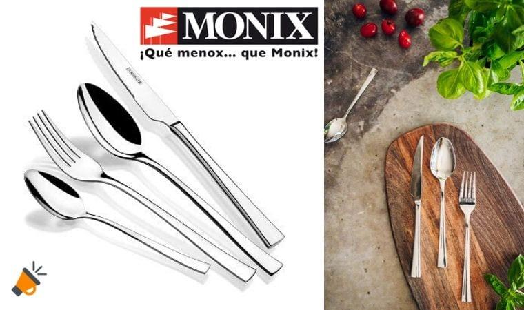 oferta Monix Mo%CC%81dena Set de cubiertos barato SuperChollos