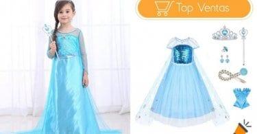 oferta Disfraz de Princesa Elsa de Frozen barato SuperChollos
