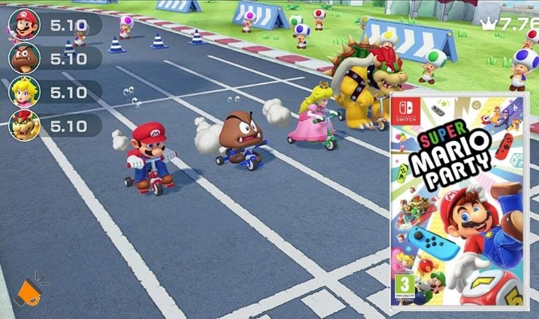 oferta Super Mario Party para Nintendo Switch barato SuperChollos