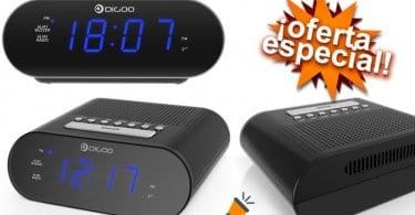 oferta Despertador DIGOO DG FR200 barato SuperChollos