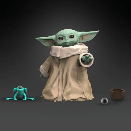 Figura Baby Yoda de Star Wars barata SuperChollos