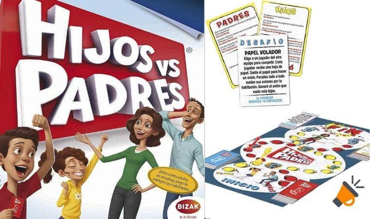 oferta Juego de mesa Hijos contra Padres barato SuperChollos