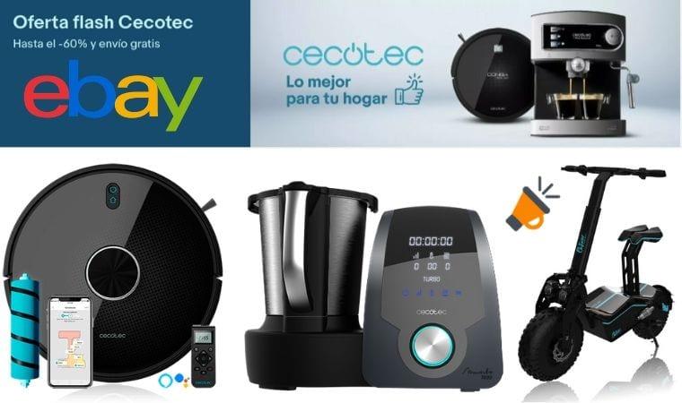 ofertas cecotec ebay SuperChollos
