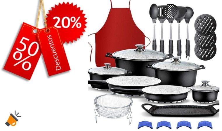 oferta kit de cocina gridinlux barato SuperChollos