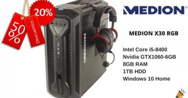 OFERTA MEDION X30 RGB BARATO SuperChollos