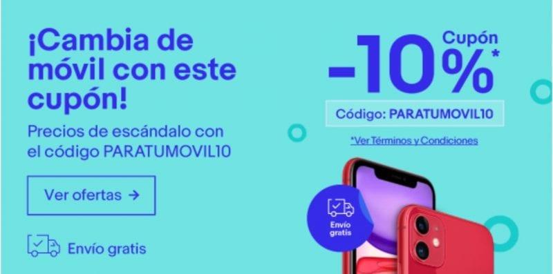 cupon descuento ebay moviles paratumovil10 febrero 2020 superchollos SuperChollos
