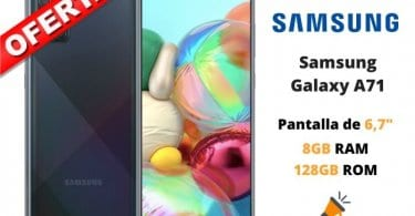 oferta Samsung Galaxy A71 barato SuperChollos