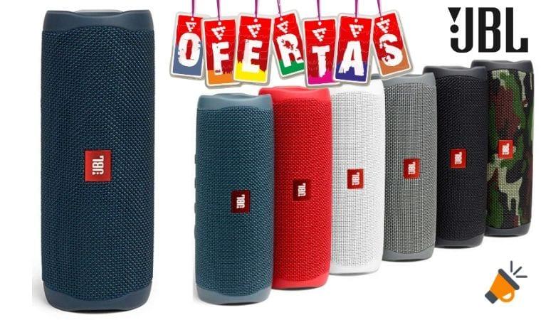 oferta JBL Flip 5 altavoz barato SuperChollos
