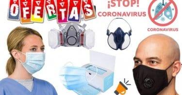 ofertas mascarillas coronavirus baratas SuperChollos