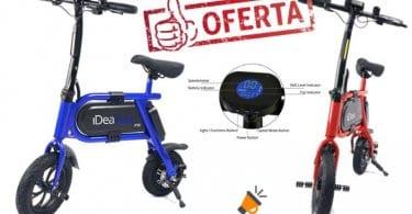 oferta Bicicleta ele%CC%81ctrica IDEAPLAY P10 barata SuperChollos
