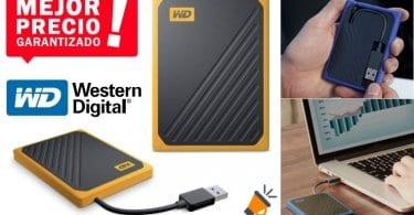 oferta WD My Passport Go 2 TB Disco duro barato SuperChollos