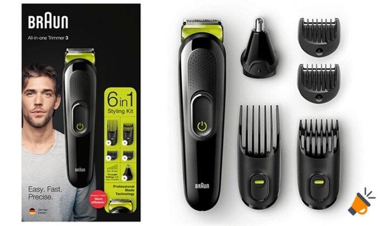 Braun MGK3221 Recortadora de barba SuperChollos