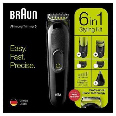 Recortadora de barba Braun MGK3221 barata SuperChollos