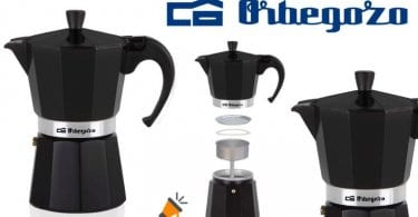 oferta Orbegozo KFN 610 Cafetera italiana barato SuperChollos