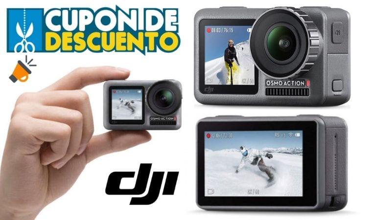 oferta Videoca%CC%81mara DJI Osmo Action barata SuperChollos