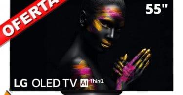 oferta Smart TV LG OLED55B9ALEXA barata SuperChollos