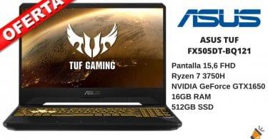 OFERTA ASUS TUF Gaming FX505DT BQ121 BARATO SuperChollos