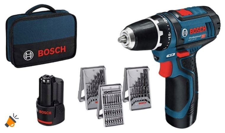 oferta Bosch Professional GSR 12V 15 Atornillador barato SuperChollos