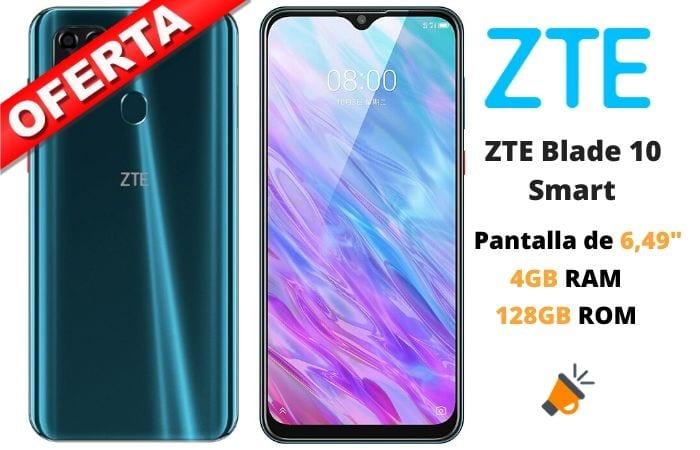 oferta ZTE Blade 10 Smart barato SuperChollos