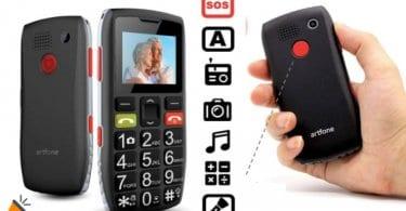 oferta Artfone C1 Senior telefono movil barato SuperChollos