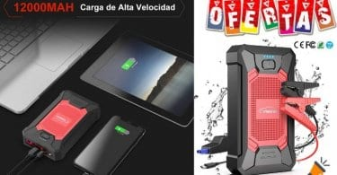 oferta Arrancador de bateri%CC%81as Yaber barato SuperChollos