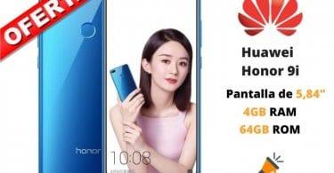 oferta Huawei Honor 9i barato SuperChollos