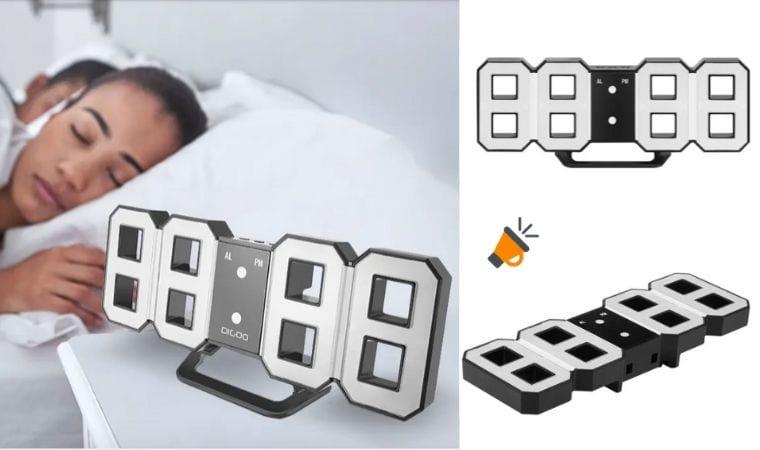 ofertta Reloj despertador digital LED Digoo DC K3 barato SuperChollos