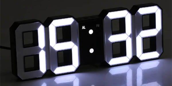 Reloj despertador Digoo DC K3 barato SuperChollos