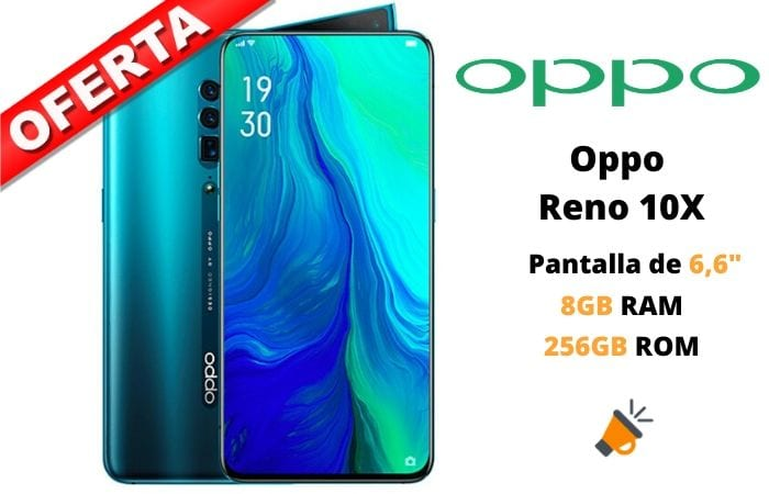 oferta Oppo Reno 10X zoom barato 1 SuperChollos