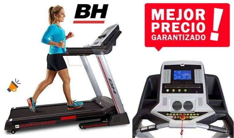 oferta BH Fitness Marathoner Cinta de Correr barata SuperChollos
