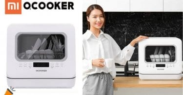 oferta Xiaomi QCOOKER lavavajillas barato SuperChollos