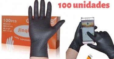oferta guantes de latex desechables baratos SuperChollos