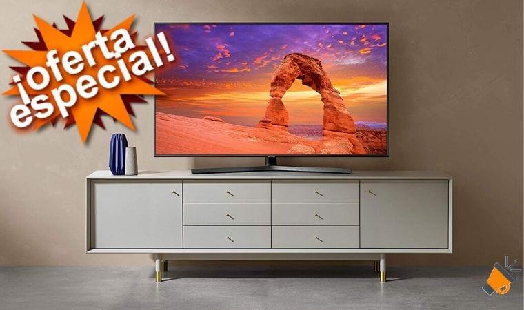 oferta samsung 43RU7405 smart tv barata SuperChollos