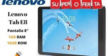 oferta Lenovo Tab E8 Tablet barata 1 SuperChollos