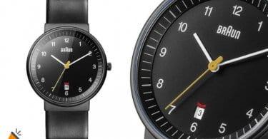 oferta Braun BN0032BKBKMHG Reloj analo%CC%81gico barato SuperChollos