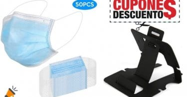 oferta Pack 50 mascarillas desechables Lixada barato SuperChollos