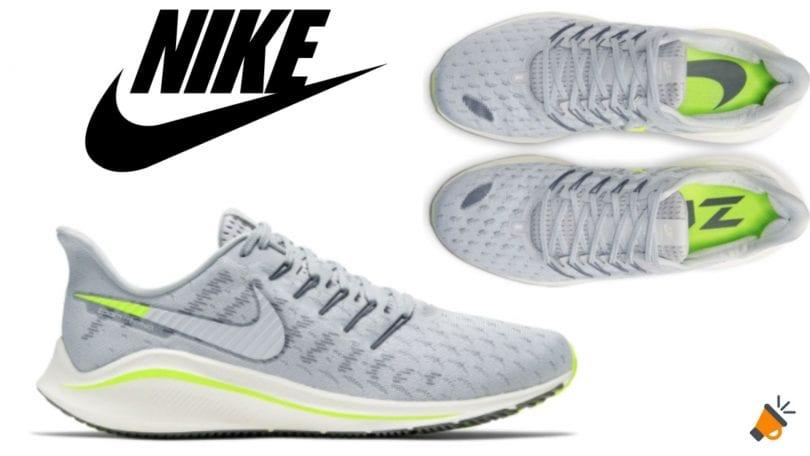 Elocuente Final chatarra  ANTES 139€! Nike Air Zoom Vomero 14 por 69€ en El Corte Inglés