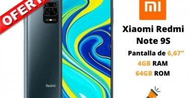 oferta Redmi Note 9S barato SuperChollos