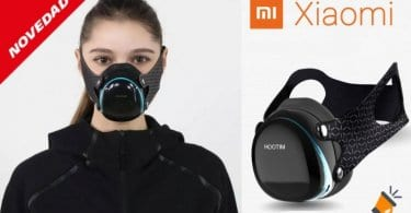 Oferta mascarillas electronica Xiaomi Hootim barata SuperChollos