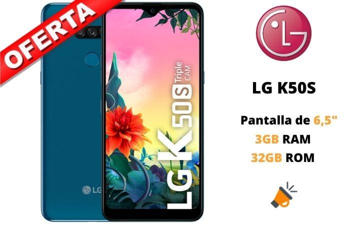 oferta LG K50S barato SuperChollos