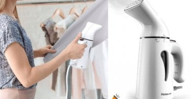 oferta Plancha Ropa Vapor Vertical Homeve barata SuperChollos