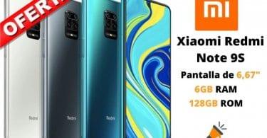 oferta Redmi Note 9S barato 1 SuperChollos
