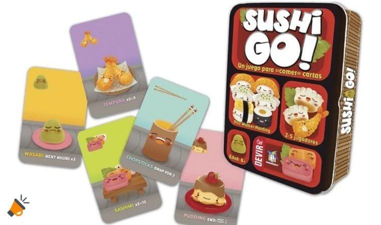 oferta Juego de cartas Sushi Go barato SuperChollos