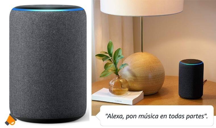 oferta Amazon Echo 3.%C2%AA generacio%CC%81n barato SuperChollos